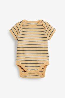 Next 5 Pack Short Sleeve Bodysuits (0mths-3yrs) - 285707
