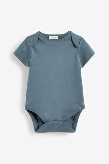 Next 5 Pack Short Sleeve Bodysuits (0mths-3yrs) - 285709