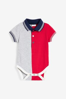Next GOTS Organic Colour Block Dungaree And Bodysuit Set (0mths-3yrs) - 285737