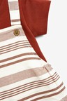 Next Stripe Dungaree and Bodysuit Set (0mths-3yrs)