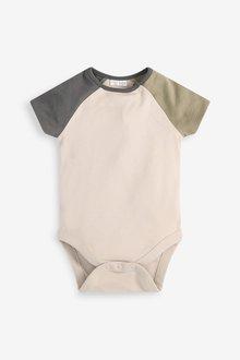 Next GOTS Organic Jersey Dungaree And Bodysuit Set (0mths-3yrs) - 285743