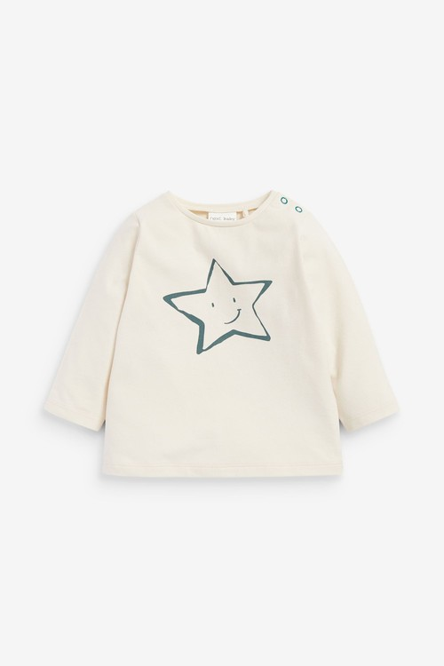 Next GOTS Organic Star T-Shirt and Legging Set (0mths-2yrs)