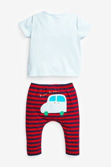 Next Transport T-Shirt And Leggings Set (0mths-2yrs) - 285755