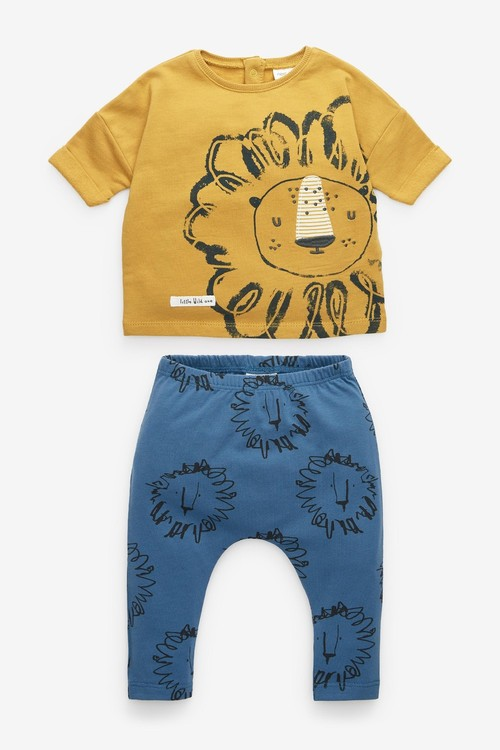 Next Lion T-Shirt And Leggings Set (0mths-2yrs)