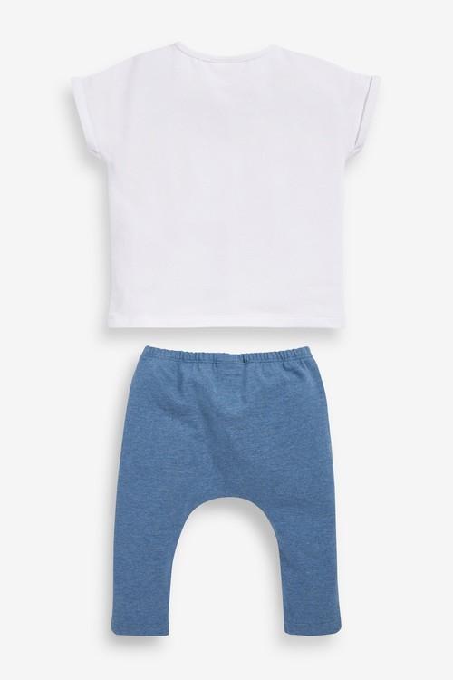 Next GOTS Organic Transport T-Shirt and Legging Set (0mths-2yrs)