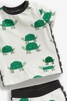 Next Turtle T-Shirt And Joggers Set (0mths-2yrs)