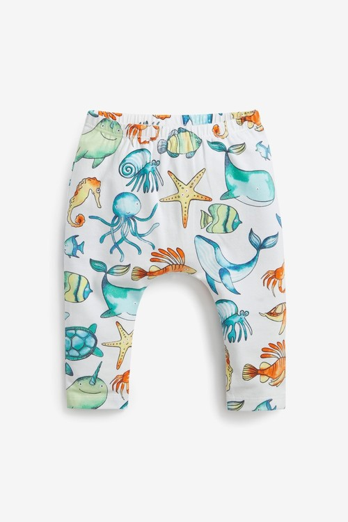 Next GOTS Organic Sea Life T-shirt and Legging Set (0mths-2yrs)