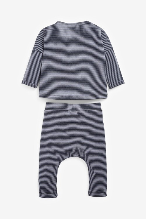 Next Stripe T-Shirt And Joggers Set (0mths-2yrs)
