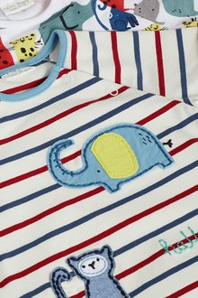 Next 2 Pack Character Rompers (0mths-2yrs) - 285783