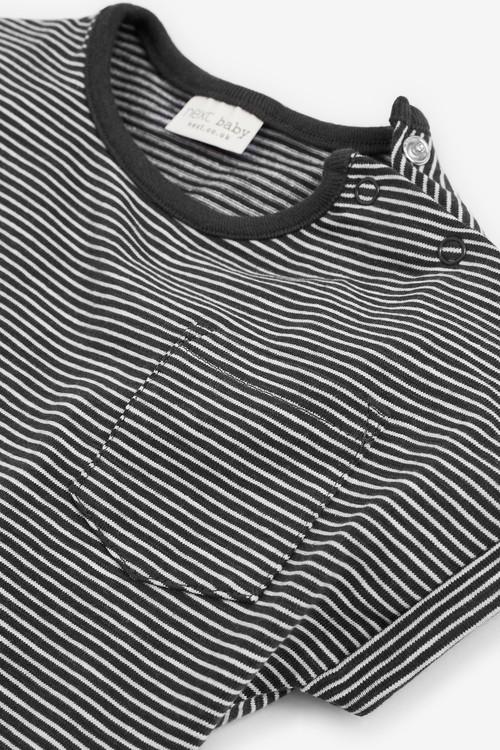 Next 4 Pack GOTS Organic T-Shirts (0mths-2yrs)