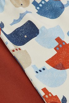 Next 2 Pack Whale Leggings (0mths-3yrs) - 285833