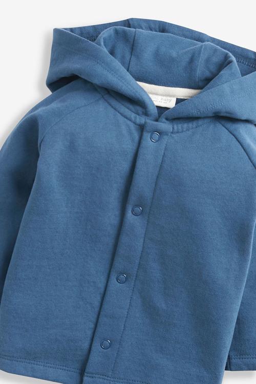 Next Slogan Jersey Jacket (0mths-3yrs)