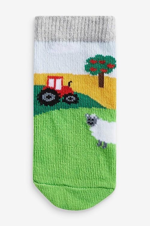 Next 3 Pack Farm Socks (Younger)