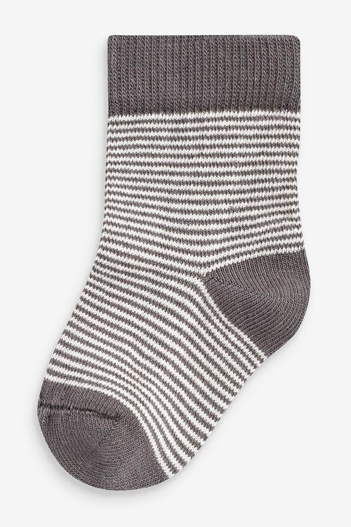 Next 5 Pack Dinosaur Socks (Younger)