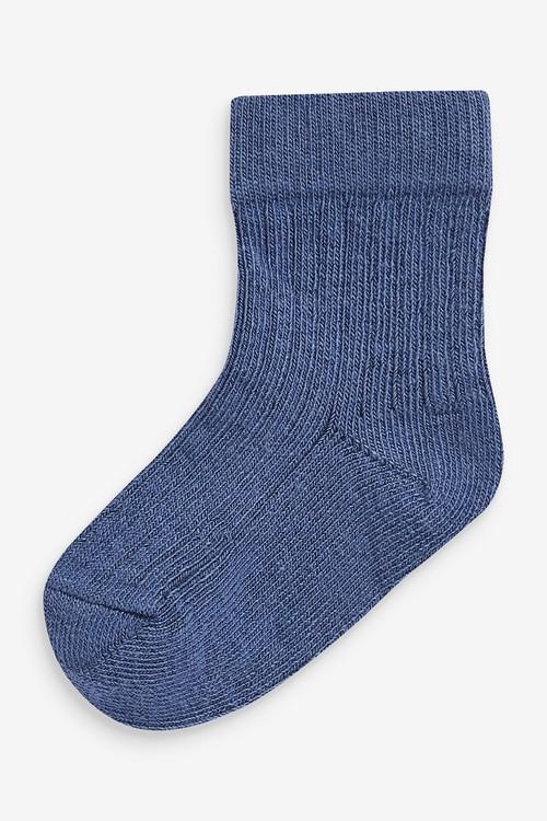 Next 7 Pack Rib Socks (Younger)
