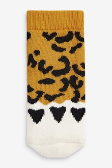 Next 3 Pack Animal Claw Towelling Socks (Younger) - 285943