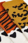 Next 3 Pack Animal Claw Towelling Socks (Younger)