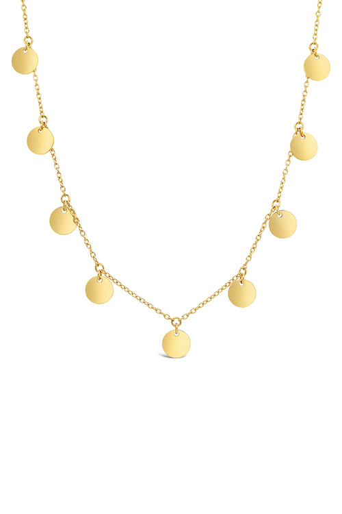 By Fairfax and Roberts Boho Multi Charm Layering Necklace
