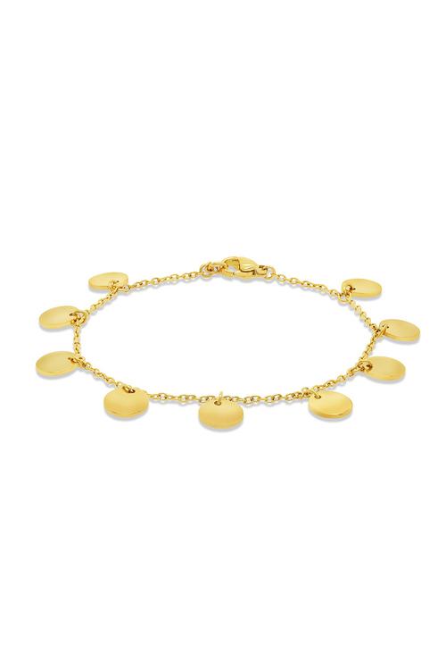 By Fairfax and Roberts Boho Multi Charm Bracelet
