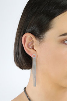 Fairfax and Roberts Boho Fringe Chain Drop Earrings - 285959