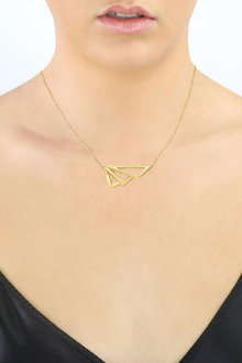 By Fairfax and Roberts Retro Open Winged Layering Necklace - 285963