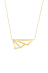By Fairfax and Roberts Retro Open Winged Layering Necklace