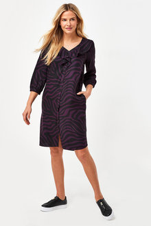 Next Ruffle Shirt Dress - 285979