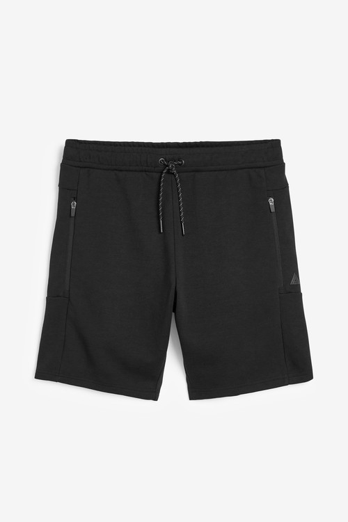 Next Jersey Shorts With Zip Pockets
