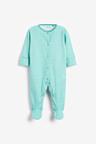Next 3 Pack Printed Sleepsuits (0-2yrs)