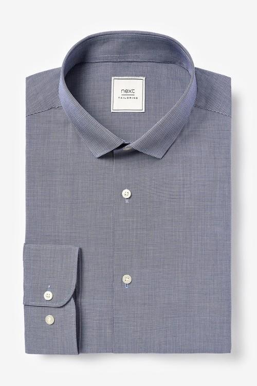 Next Shirts Three Pack-Slim Fit Single Cuff