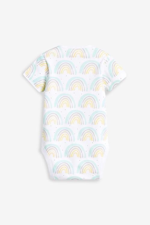 Next 3 Pack Short Sleeve Bodysuits (0mths-3yrs)