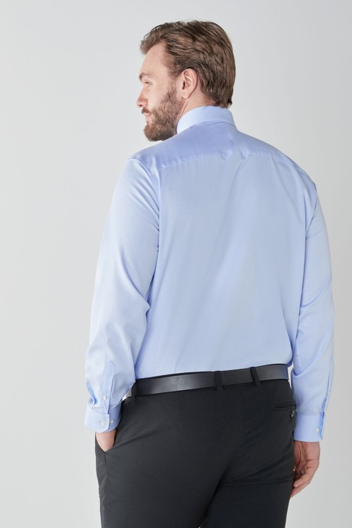 Next Signature Textured Trimmed Shirt