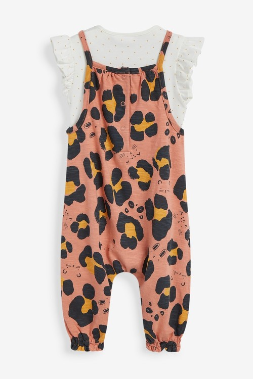 Next Dungarees And Bodysuit Set (0mths-2yrs)