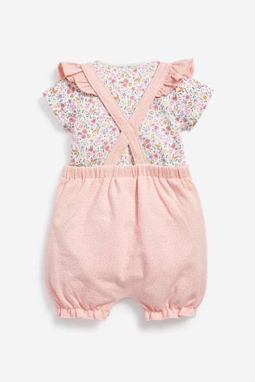 Next Character Dunagree and Bodysuit Set (0mths-2yrs)