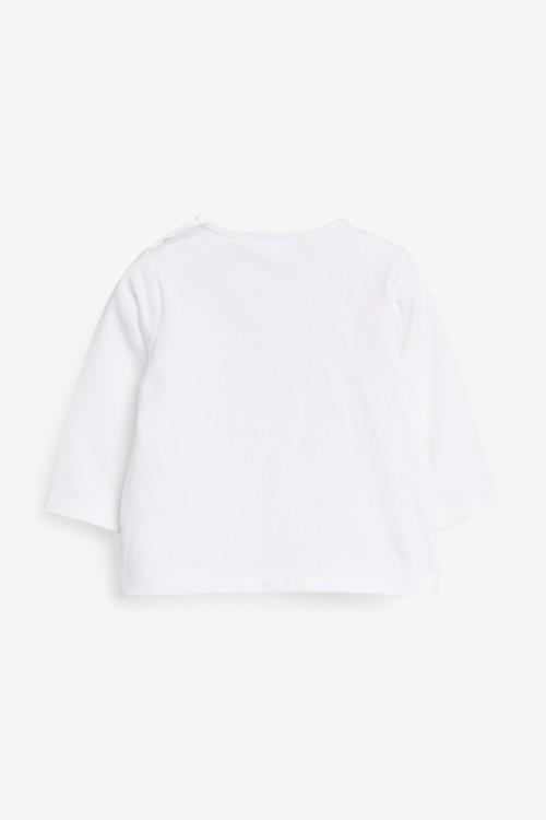 Next GOTS Organic 3 Piece Rainbow T-Shirt, Legging And Bib Set (0mths-