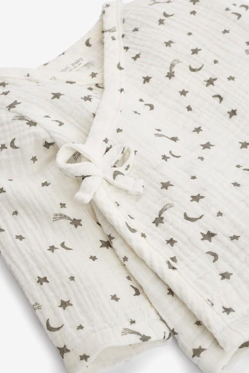 Next 2 Piece Wrap Crinkle Fabric Set (0mths-2yrs)