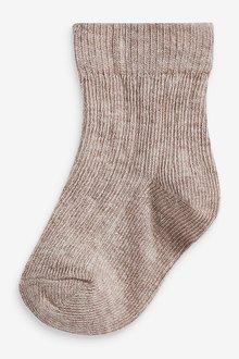 Next 7 Pack Rib Socks (Newborn) - 286189