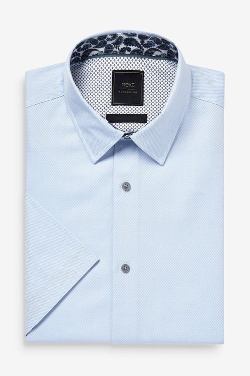 Next Shirt With Printed Trim Detail