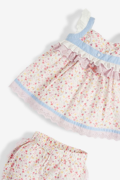 Next 2 Piece Blouse And Bloomer Woven Set (0mths-2yrs)