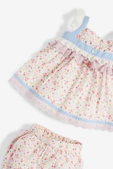 Next 2 Piece Blouse And Bloomer Woven Set (0mths-2yrs) - 286228