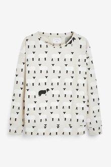 Next Cotton Blend Pyjamas-Tall - 286232
