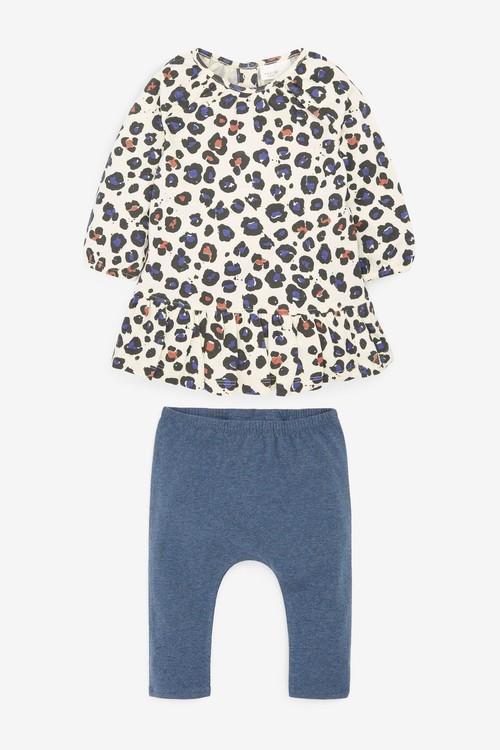 Next Print Dress And Leggings Set (0mths-2yrs)