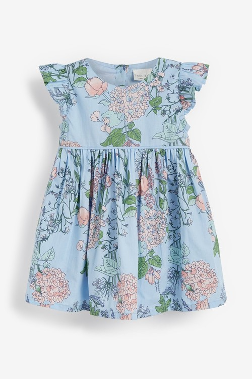 Next Floral Prom Dress And Knickers Set (0mths-2yrs)