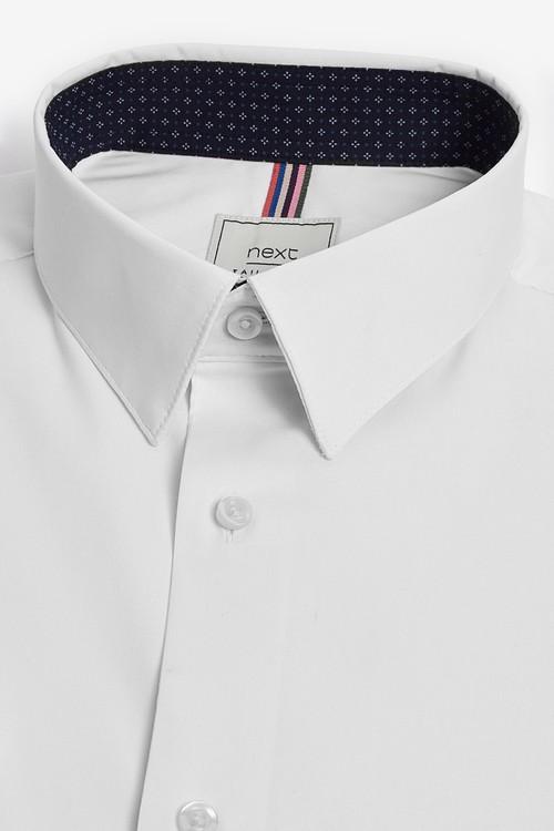 Next Motion Flex Shirt-Skinny Fit Single Cuff