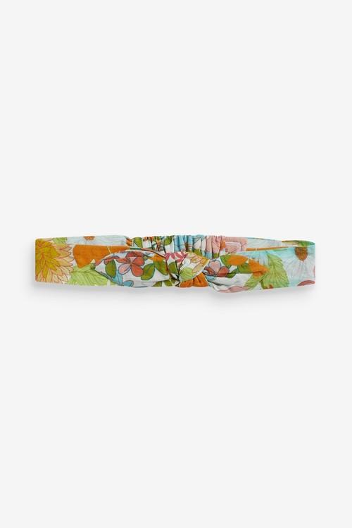 Next Floral Mixed Print Dress, Knicker And Headband Set (0mths-2yrs)