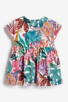 Next Tropical Print Jersey Dress (0mths-2yrs) - 286299