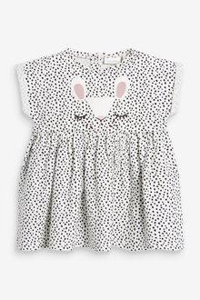 Next Bunny Face Jersey Dress (0mths-2yrs) - 286324