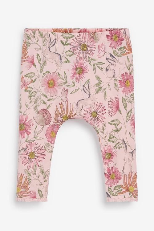 Next 3 Piece Floral Tunic, Leggings And Headband Set (0mths-2yrs)