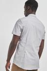 Next Short Sleeve Stretch Oxford Shirt-Slim Fit