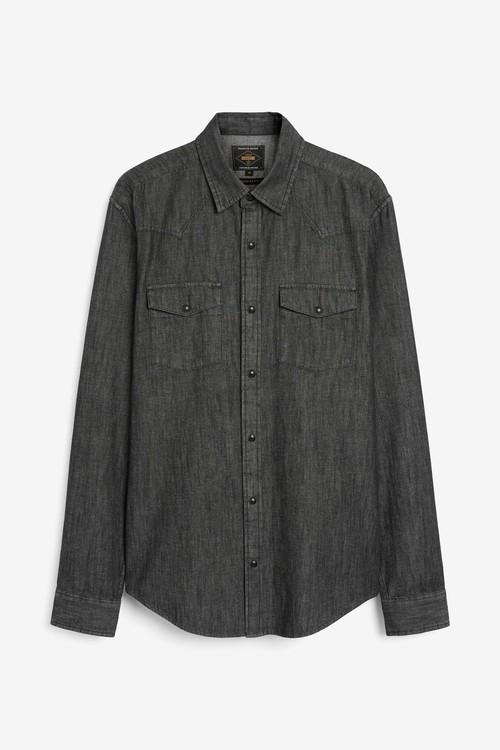 Next Denim Western Shirt